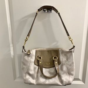 Coach Purse + long shoulder strap